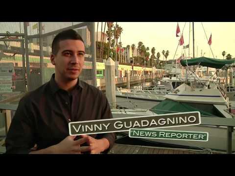 On Set: JERSEY SHORE SHARK ATTACK -- DVD extras clip