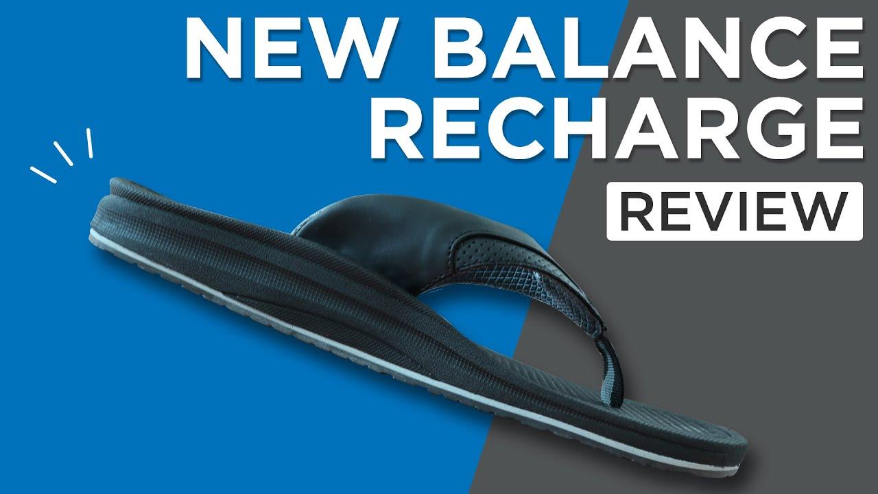 Video - New Balance Recharge Sandal