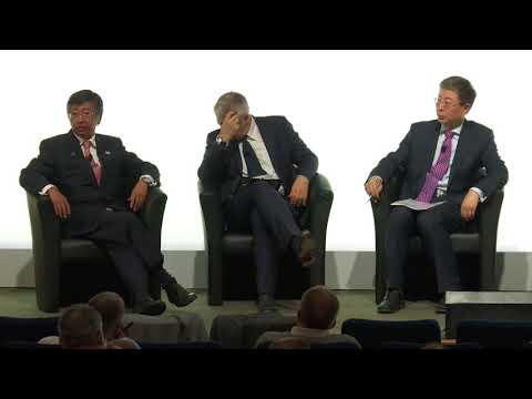 The UK: An International Perspective panel - SMMT's International Automotive Summit 2018