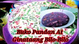 Gumawa ako ng  Ginataang Bilo-bilo and Buko Pandan #Cooking DIANA&#39S BLOG