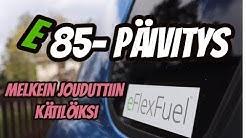 eFlexFuel E85- Muutossarjan asennus