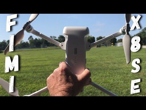 FIMI X8SE Drone Initial Impressions Flight 4K