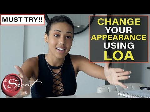 How to Change Your Appearance Using The Law of Attraction | This Really Works!! [MUST TRY!!]