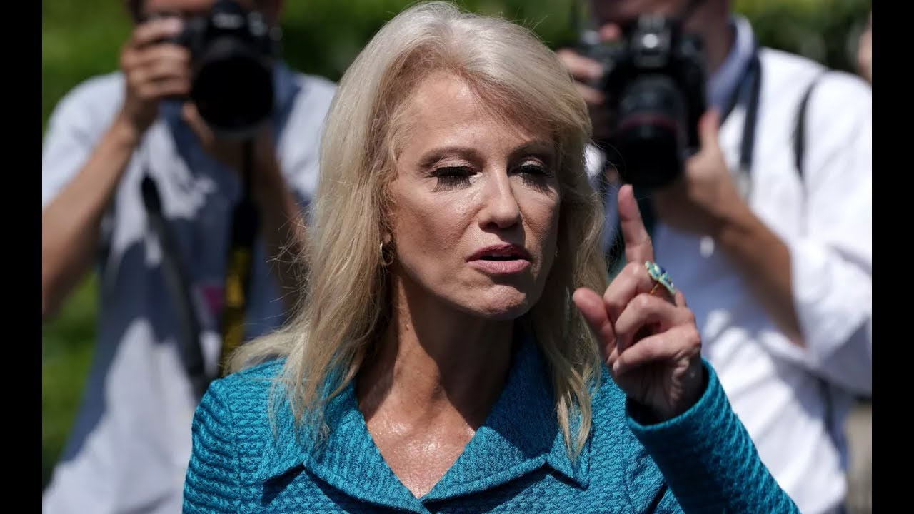 GST RABID REPORTERS: Kellyanne Conway Leave s the Liberal Media SPEECHLESS at Press Conference