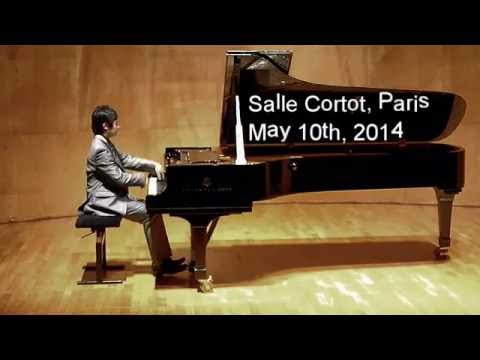 Alex Camai performs Chopin Impromptu in F-sharp major at Salle Cortot, Paris