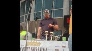The American Royal Burnt End Battle Eating Championship World Record