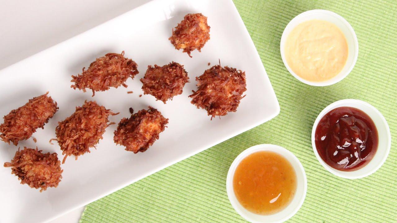 Coconut Chicken Nuggets Recipe Laura Vitale Laura In The