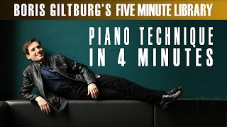 Five Minute Library: BORIS GILTBURG | PIANO TECHNIQUE