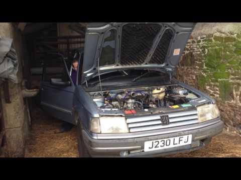 Peugeot 309 Barn Start