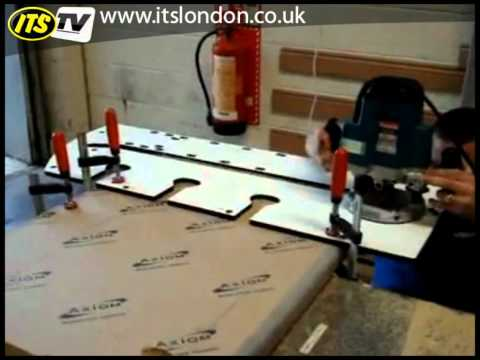 joining kitchen worktops part 2 doovi. Black Bedroom Furniture Sets. Home Design Ideas