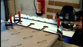 Itstv_unika Multipurpose Worktop Router Jig Demo