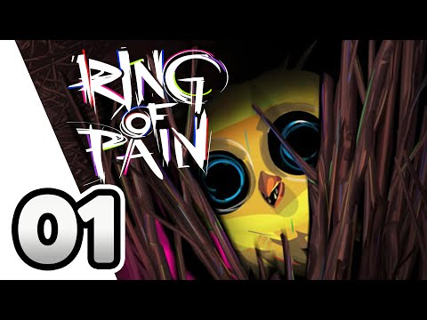 Ring Of Pain PC Gameplay - A Masochistic Rogue-Lite Deck Builder - Lets Play Part 1 |
