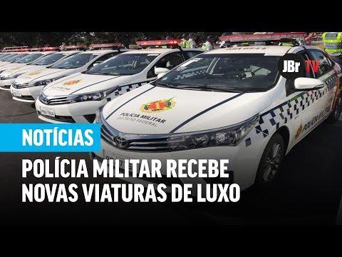 Polícia Militar recebe novas viaturas de luxo; investimento foi de R$ 14,5 milhões