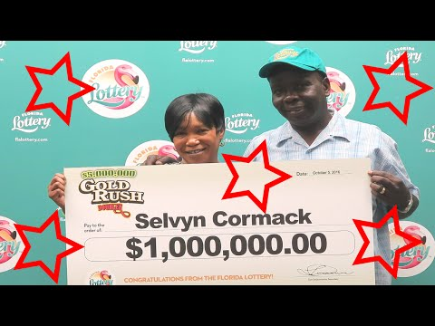 2 Floridians hit $1 million on the same ticket this week!!!