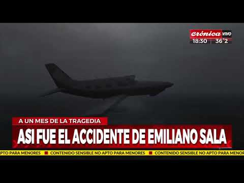 Avion Emiliano Sala
