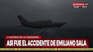 Así se cayó el avión de Emiliano Sala