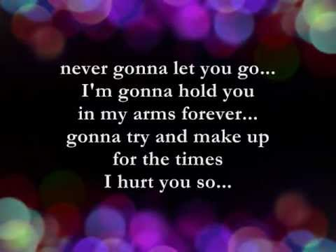 Never Gonna Let You Go || Lyrics || Sergio Mendes