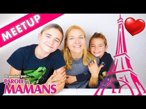 NOTRE PROCHAIN MEETUP À PARIS ! ❤️