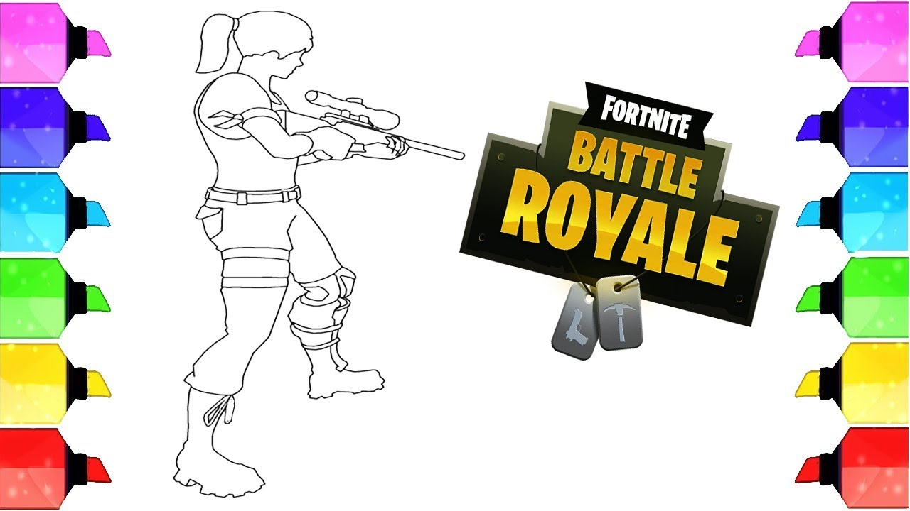 Fortnite Battle Royale Coloring Pages Fortnite Colouring
