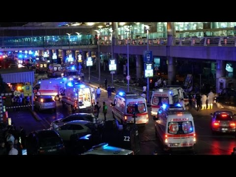 Terror attack at Istanbul airport