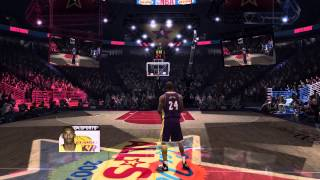 NBA Live 07 Dunk Contest Gameplay (Xbox 360)