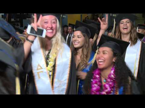 2017 Physical Sciences, Arts, and Education Commencement Ceremony