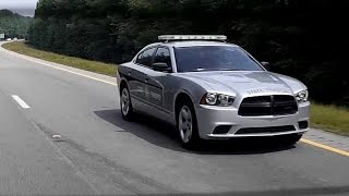 "North Carolina State Highway Patrol ""SHP-1735"" Caught Speeding on NC Hwy 264"