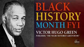 Black History Month FYI: Victor Hugo Green   The View