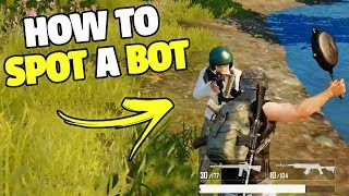 Guide: How To Spot A Bot   PUBG Mobile