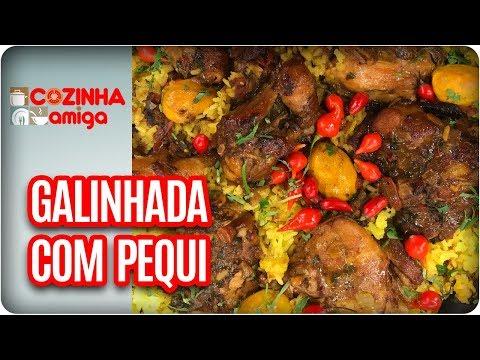 Galinhada Com Pequi - Patricia Gonçalves | Cozinha Amiga (25/10/17)