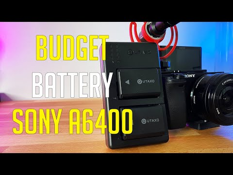 Best Battery Pack For Sony A6400 With Charger | Utaxo Battery Review NP-FW50 2020