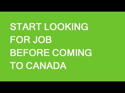 Preparing for arrival to Canada: improving employment chances. LP Group
