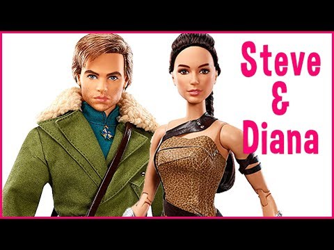 Barbie Wonder Woman Paradise Island Gift Set with Steve Trevor Doll Review
