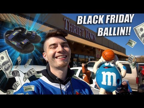 Trip to the Thrift #205 |  BLACK FRIDAY BALLIN!! Ft. Nautica, Adidas & More!