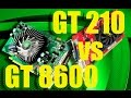 GT210 vs GT8600 и разные игры [WoT, CS GO, GTA5]