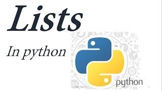 Python Tutorial for Beginners 4: Lists(array) Urdu/Hindi