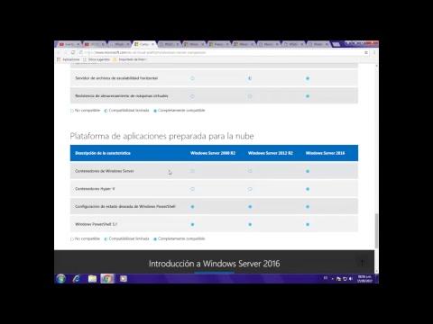 20 Comparación de Ediciones Standard y Datacenter de Windows Server 2016