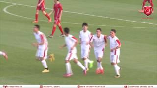 الأهداف   لخويا 2-2 الحلم السوري   مباراة ودية فئة الناشئين