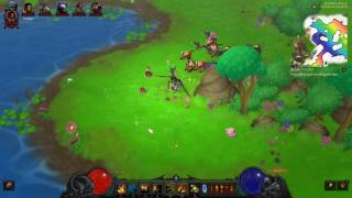 diablo iii s10 holiday in whimsydale rainbow goblin