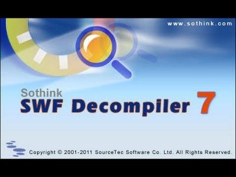 sothink swf decompiler crack 2018
