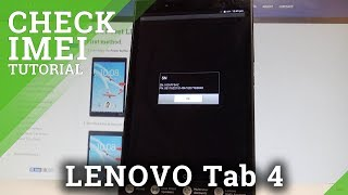 How to Check IMEI and Serial Number on LENOVO Tab 4 - Status Settings  HardReset.Info
