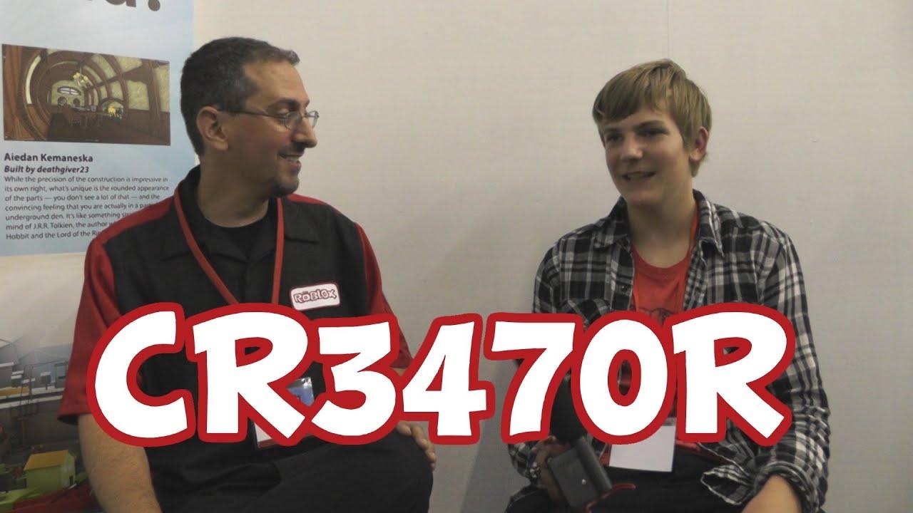 Interview with ROBLOX Lead Designer Cr3470r [BLOXcon ...