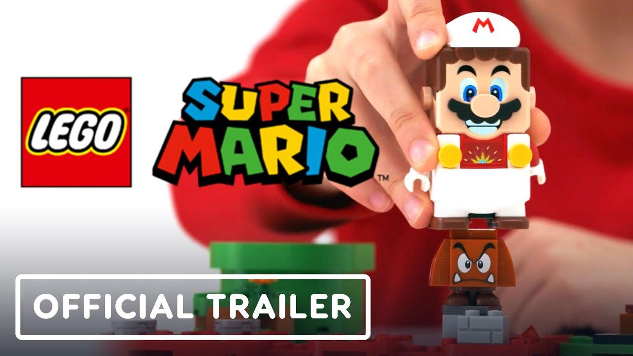 LEGO Super Mario - Tráiler oficial de los paquetes de encendido + vídeo