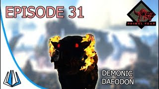 Taming Demonic Daeodon Ark Primal Fear Ep31 Youtube In ark mobile, daedons can only be found in dungeons as the eerie variant. youtube