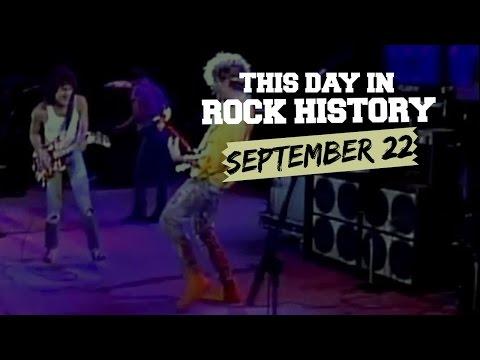 Sammy Hagar + Eddie Van Halen Join Forces - September 22 in Rock History