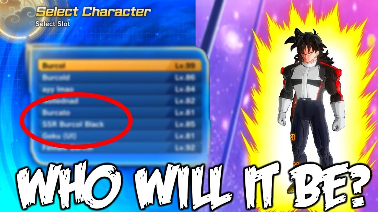 I HAVE TO DELETE TWO CHARACTERS  | Dragon Ball Xenoverse 2