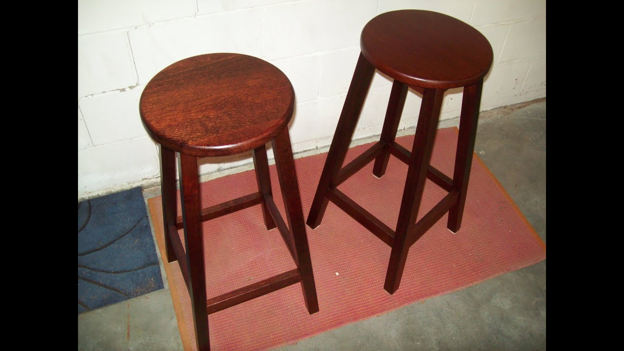 Bar Stool Easy Build - YouTube