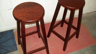 Bar Stool Easy Build
