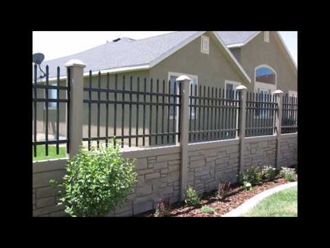Design Fencing Precast concrete fencing designs photos youtube precast concrete fencing designs photos workwithnaturefo