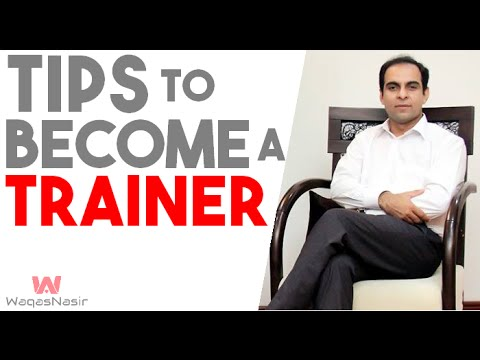 Tips on How to Become a Successful Trainer- By Qasim Ali Shah (In Urdu/Hindi) 2016